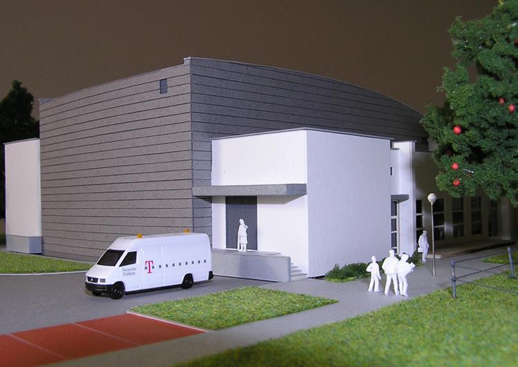 Sala widowiskowa - ETC Architekci